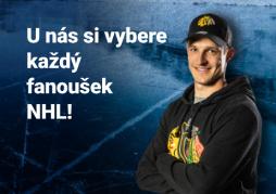 Zima v barvách NHL