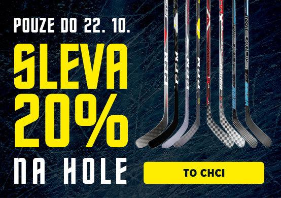 Hockey Days s HokejPro Sleva 20 % na hokejky!