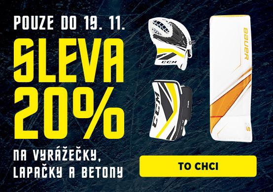 Hockey Days s HokejPro Sleva 20 % na betony, lapačky a vyrážečky!