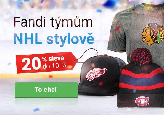 Sleva 20 % na všechny NHL produkty