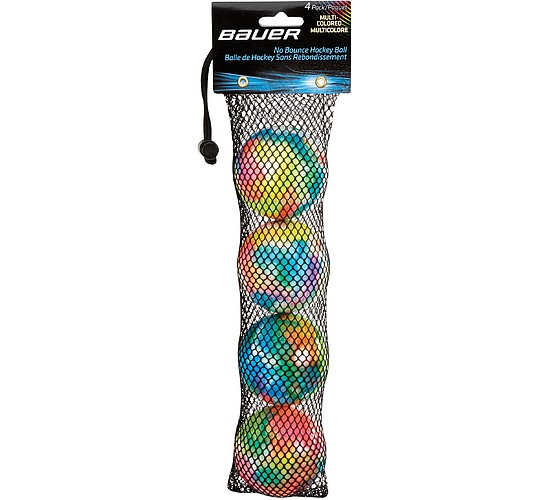 míčky Bauer Multicolored 4set