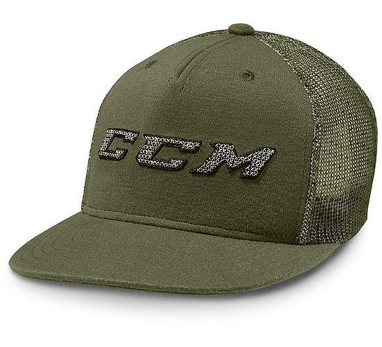 kšiltovka CCM Grit Flat Brim Snapback SR