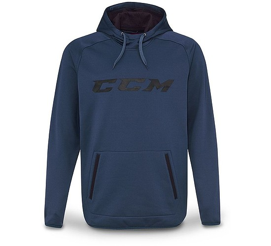 mikina CCM Grit Tech Pullover Hood JR
