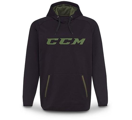 mikina CCM Grit Tech Pullover Hood SR