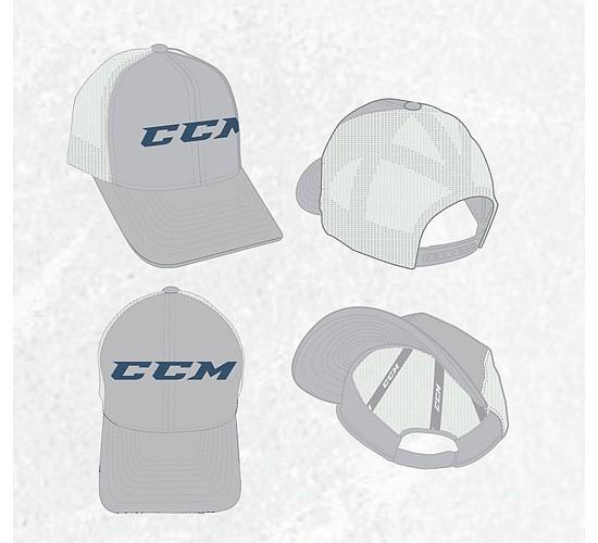 kšiltovka CCM Chromatic Trucker Mesh