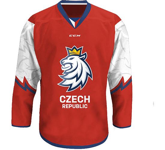 dres Český hokej 2020 fan