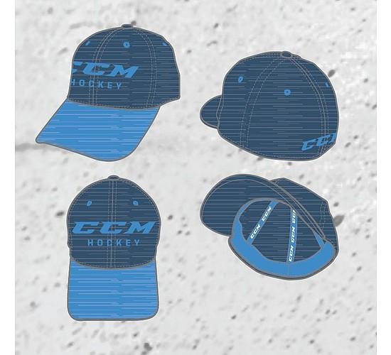 kšiltovka CCM Chromatic Structured Flex